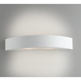 Applique Cortina bianco, in gesso, 7x42 cm, E14 2xMAX13W IP20