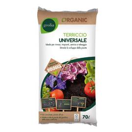Terriccio universale GEOLIA ideale per rinvasi, trapianti, semina e taleaggio 70 L