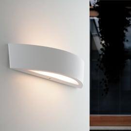 Applique Tucson in alluminio, bianco, E14 2xMAX40W IP44