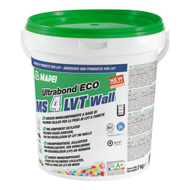 Colla Ultrabond Eco MS 4 LVT Wall MAPEI beige 7 kg