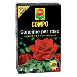 Concime granulare COMPO per Rose 1 Kg