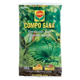 Terriccio COMPO Sana per piante verdi 20 L