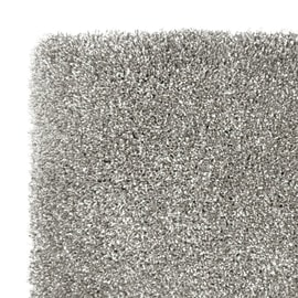 Tappeto Tinta nunita soft touch antracite 230x160 cm