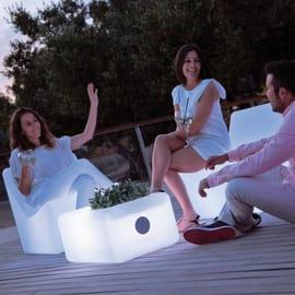 Lampada da esterno Tarida H66cm, in plastica, luce colore e intensità regolabile, LED integrato 45LM NEWGARDEN
