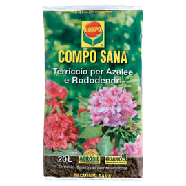 Terriccio COMPO Sana per azalee e rododendri 20 L