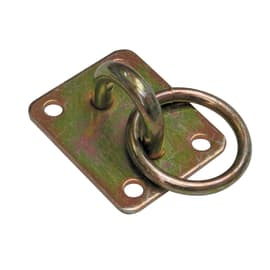 Piastra dritta acciaio zincato L 50 x Sp 3 x H 60 mm