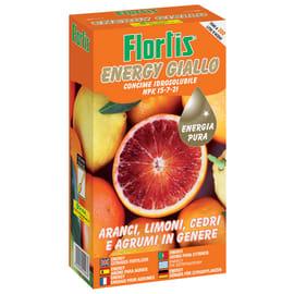Concime idrosolubile FLORTIS Energy giallo 600 g