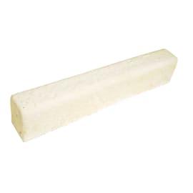 Cordolo in calcestruzzo beige/bianco Classico L 50 x H 7 cm Sp 10 cm