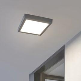 Plafoniera Argolis LED integrato in alluminio, nero, 22W 2600LM IP44 EGLO