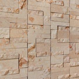 Mosaico Pietracrema rock 30 x 30 cm beige
