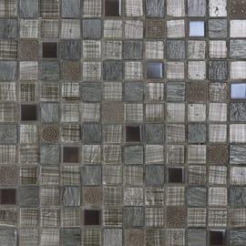 Mosaico Grey tex 30 x 30 cm grigio