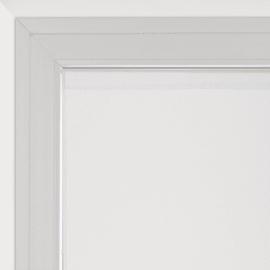 Tendina a vetro per finestra Leo bianco 60 x 120 cm