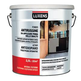 Fondo antiruggine Luxens all'acqua grigio 2,5 L