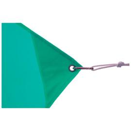 Vela ombreggiante rettangolare azzurra