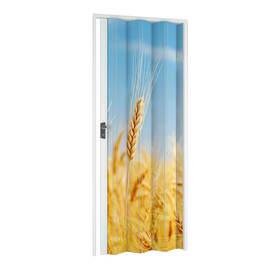 Porta a soffietto Grain fantasia L 89.5 x H 214 cm
