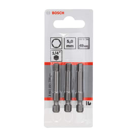 Inserti esagonale con foro 5 Bosch