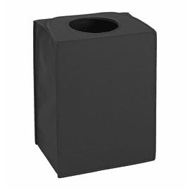 Portabiancheria Laundry Bag Rectangular nero 55 L