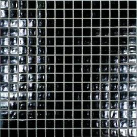Mosaico Reflex 32,7 x 32,7 cm nero