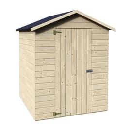 casetta in legno grezzo Margherita 2,37 m², spessore 12 mm