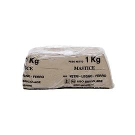 Stucco Mastice Per Vetri legno scuro 1 kg