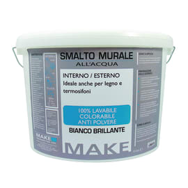 Pittura murale bianca per interni prezzi e offerte online for Pittura lavabile prezzi leroy merlin