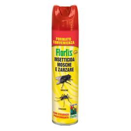 Insetticida spray Flortis Insetticida mosche e zanzare 600 ml