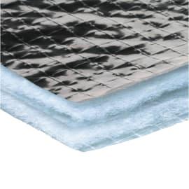 Rotolo in pellicole metallizzate Isolante termoriflettente Reflex parete Axton L 6,33 m x H 1,58 m, spessore 14 mm