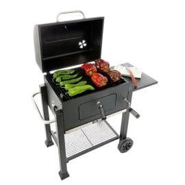 Barbecue a carbonella Grillwagen con Ruote