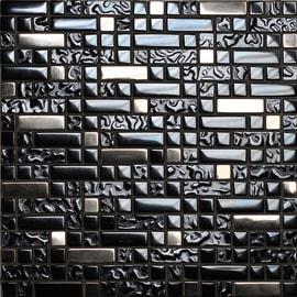 Mosaico Muretto 30 x 30 cm nero, argento