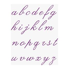 Stencil Componibile alfabeto