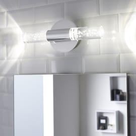 Luce da specchio Bula cromo 33 cm 5 W 700 Lumen led integrato IP44