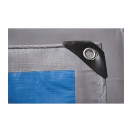 Telo protettivo occhiellato 5 x 4 m 250 g/m²