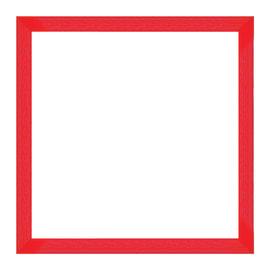 Cornice Puzzle 500 pezzi rosso 50,4 x 50,4 cm