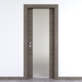Porta da interno battente Starwood pietra 80 x H 210 cm dx
