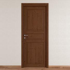 Porta da interno battente Beethoven brown chocolate 70 x H 210 cm reversibile