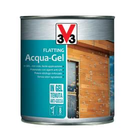 Flatting ad acqua V33 Acqua-Gel noce medio brillante 0,75 L
