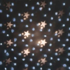 Proiettore 4 Led multicolore H 15 cm