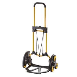 Carrello porta tutto pieghevole per trasporto su scale, portata 60 kg