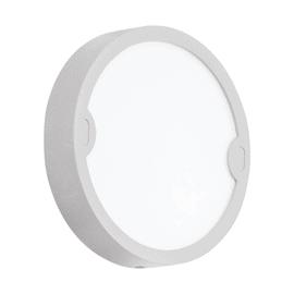 Plafoniera Alfena-R grigio tondo