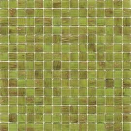 Mosaico Gold 32,7 x 32,7 cm verde