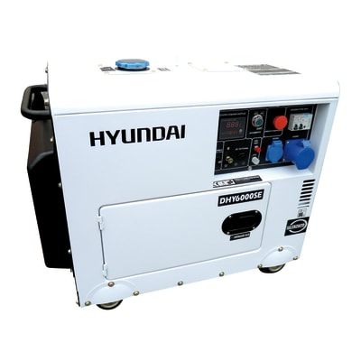 Generatore di corrente hyundai 5 3 kw prezzi e offerte for Generatore hyundai leroy merlin