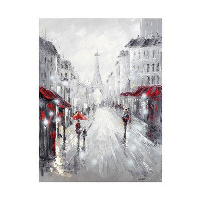 Quadro dipinto a mano boulevard 60x90 prezzi e offerte for Leroy merlin quadri tela