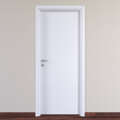 Porta da interno battente pearl bianco 70 x h 210 cm for Porta asciugamani leroy merlin