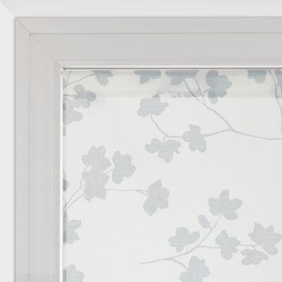 Tendina a vetro per finestra lilly panna 90 x 160 cm for Tende a pacchetto a vetro leroy merlin