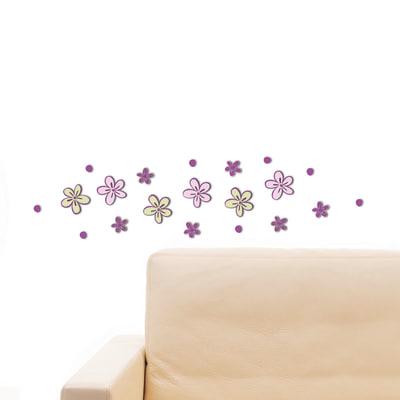 Sticker 3d foam s little flowers prezzi e offerte online leroy merlin - Tavole adesive 3d prezzi ...