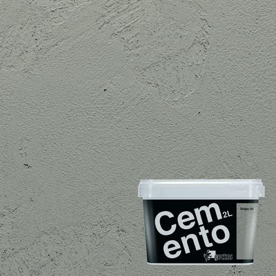 Pittura Ad Effetto Decorativo Cemento Grigio 4 2 L Prezzi E Offerte