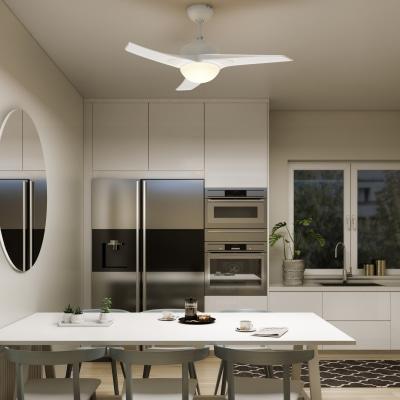 Ventilatore da soffitto con luce aruba bianco prezzi e for Leroy merlin ventilatori da soffitto