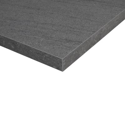 Piano cucina su misura laminato pietra lavica grigio 4 cm - Piano cucina in laminato ...