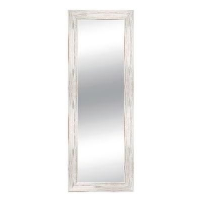 Specchio da parete rettangolare osaka bianco 57 x 157 cm - Specchio rettangolare da parete ...