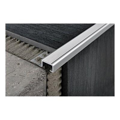 Profilo paragradino alluminio 30 mm x 270 cm prezzi e for Profilo alluminio led leroy merlin